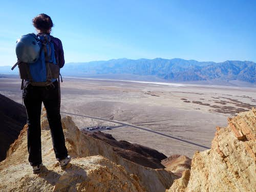 Overlooking Death Valley