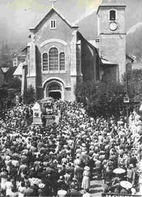 Chamonix church