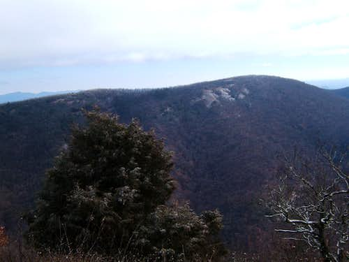 View of Wildcat Mountain from Cowrock Mountain