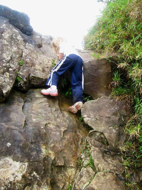 Climbing Roca El Yunque