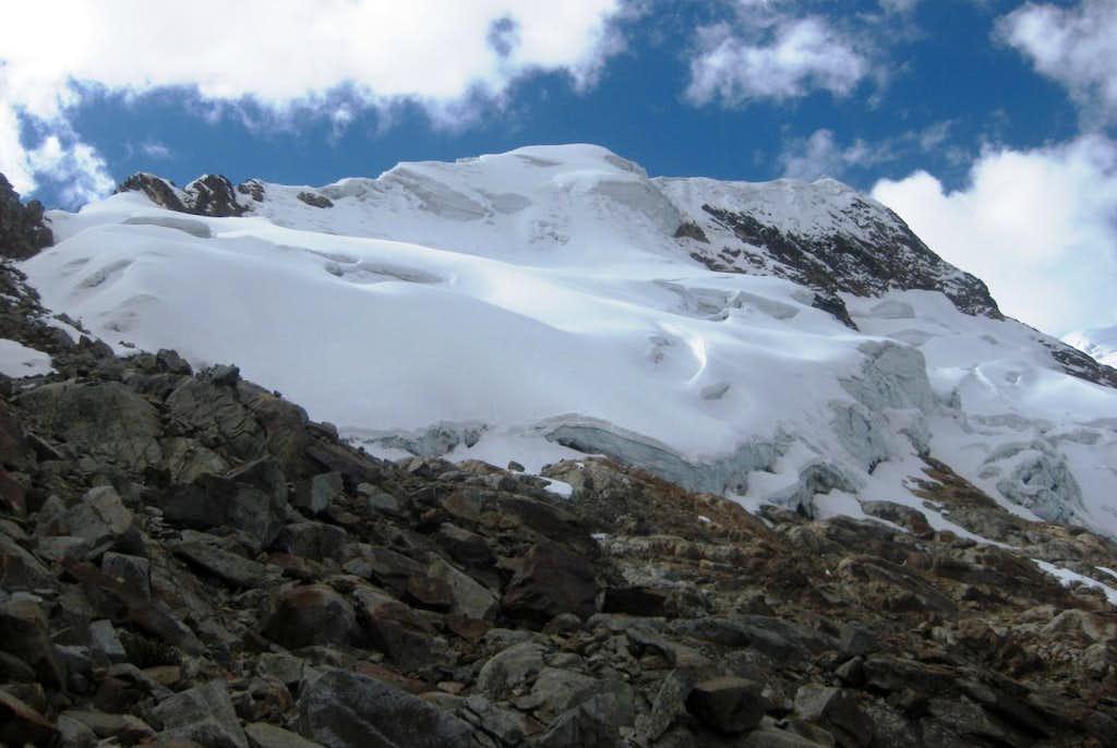 Jatunmontepuncu summit ridge