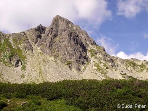 NE face of Bucura-II peak