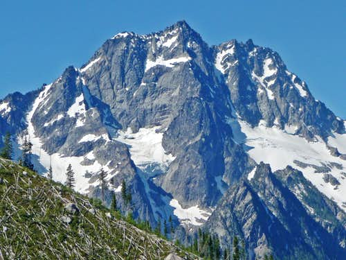 Mount Stuart\'s North Face