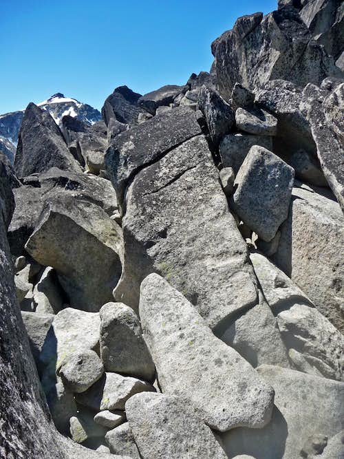 Rocks that one has to Scramble