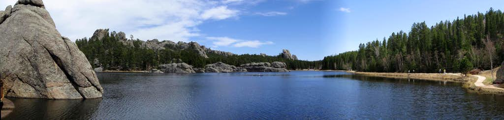 Sylvan Lake Panorama