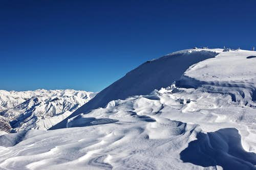 Tochal summit