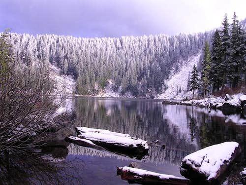 Mason Lake from the trail....