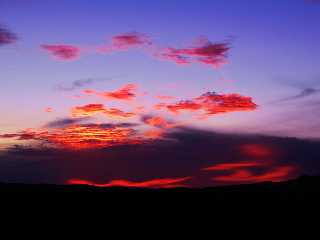 Sunset Over The Chisos