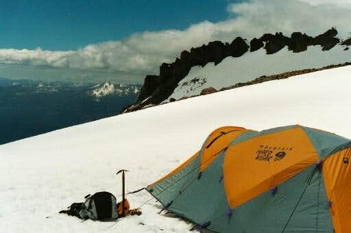 High camp views at 50/50 Flat...