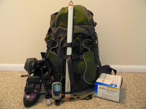 Climbing with diabetes