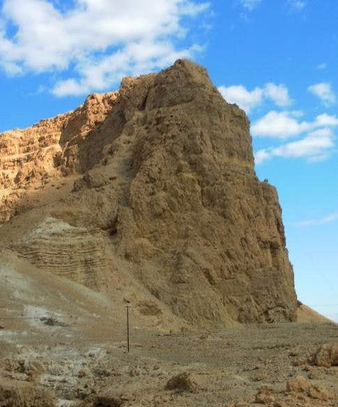 Mt Eleazar. Masada view from the path