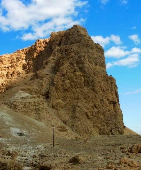 Mt Eleazar. Masada view from the path