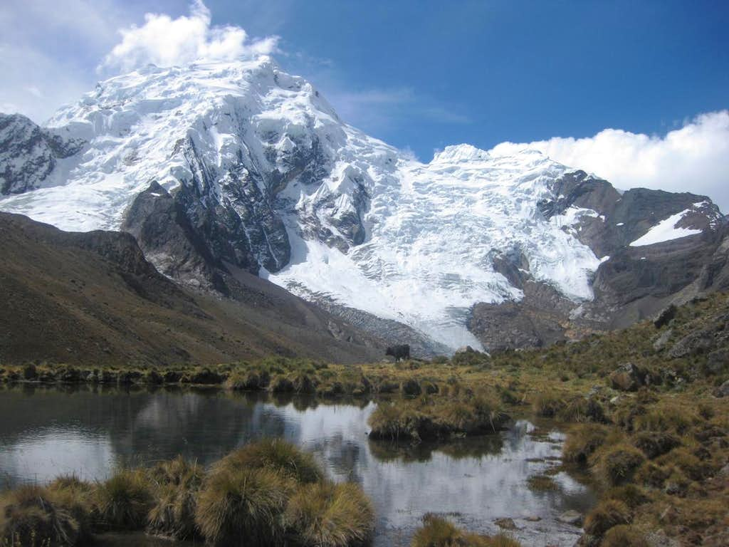 Nevado Pucaranra from the south