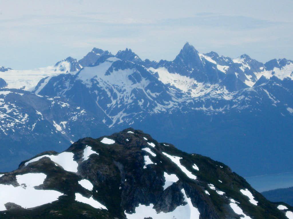 Mt Ripinski and Mt Sinclair
