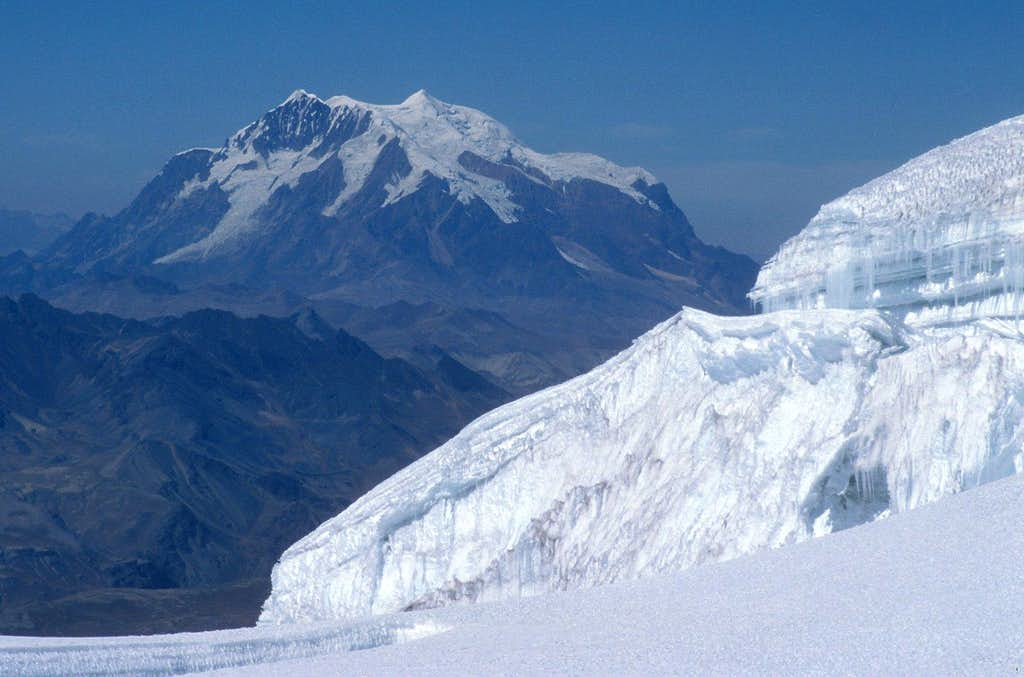 Illimani seen from NW