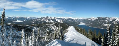 Amabilis Mountain Panoramic Feb 04 2012