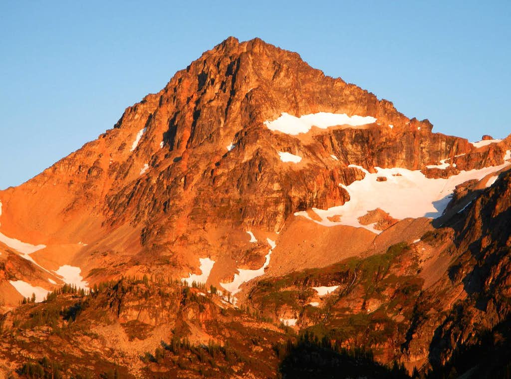 Black Peak Alpenglow