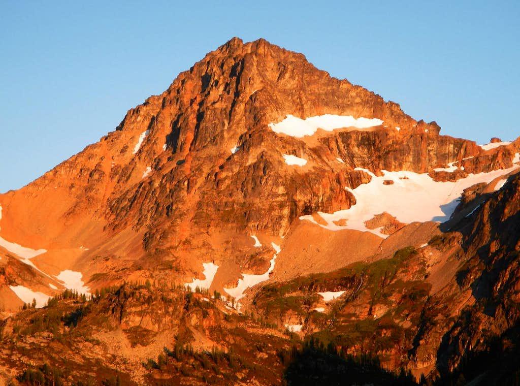 Black Peak Alpenglow