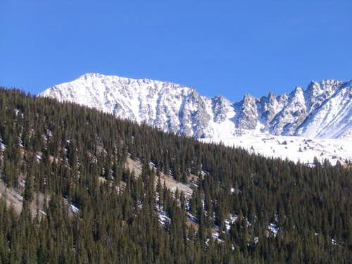 Atlantic Peak from Clinton...