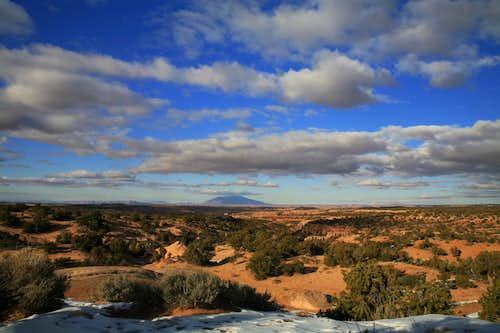 Navajo Mountain from AZ 98