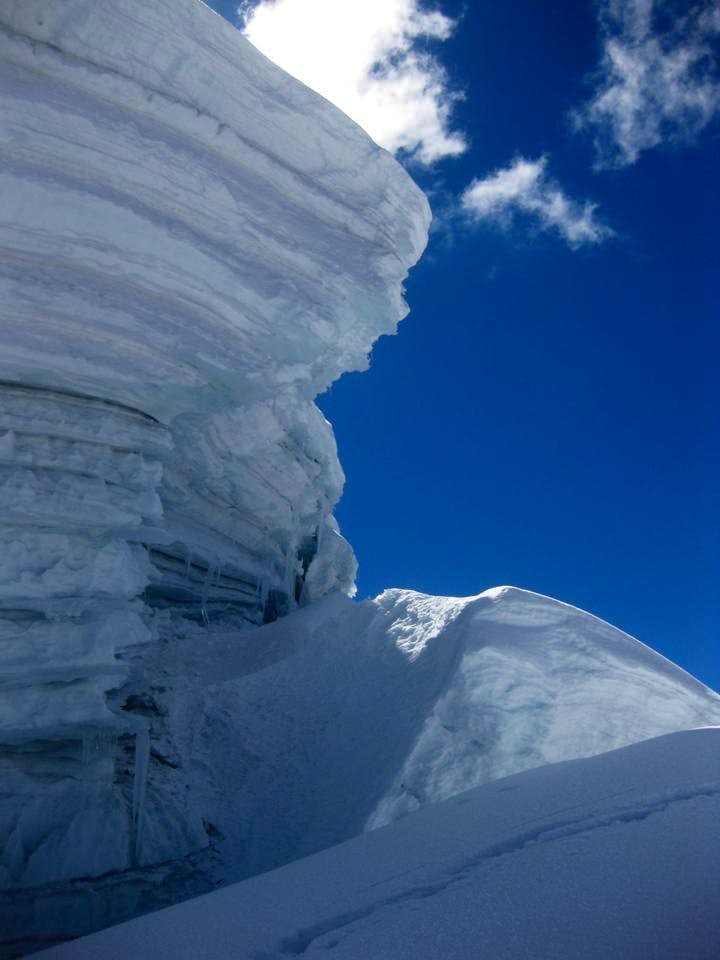 The ice wall