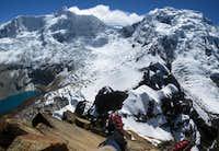 Jatunmontepuncu summit view