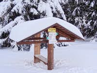 Snowy shelter