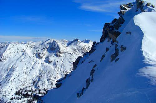 North Shoulder, Lone Peak.