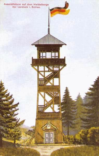 Former outlook tower on