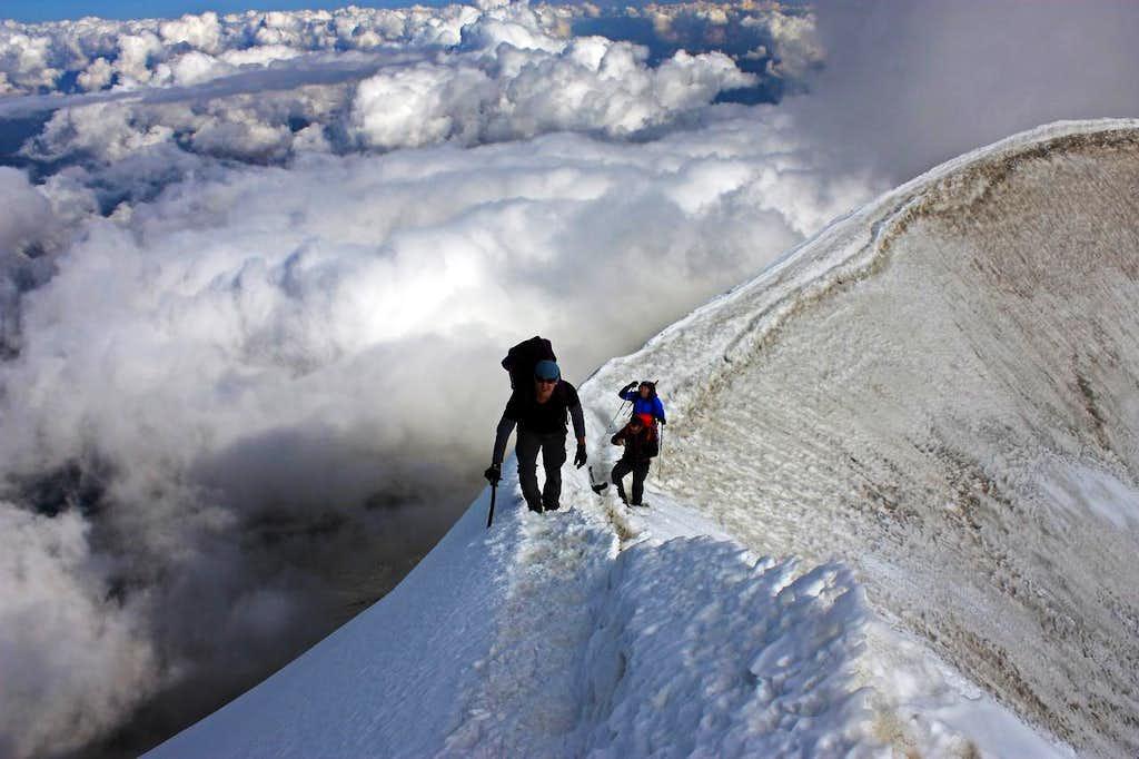 Weissmies climb