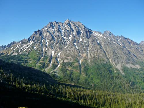 Mount Stuart\'s South Face