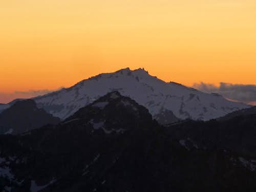 Sunset Colors over Mount Daniel