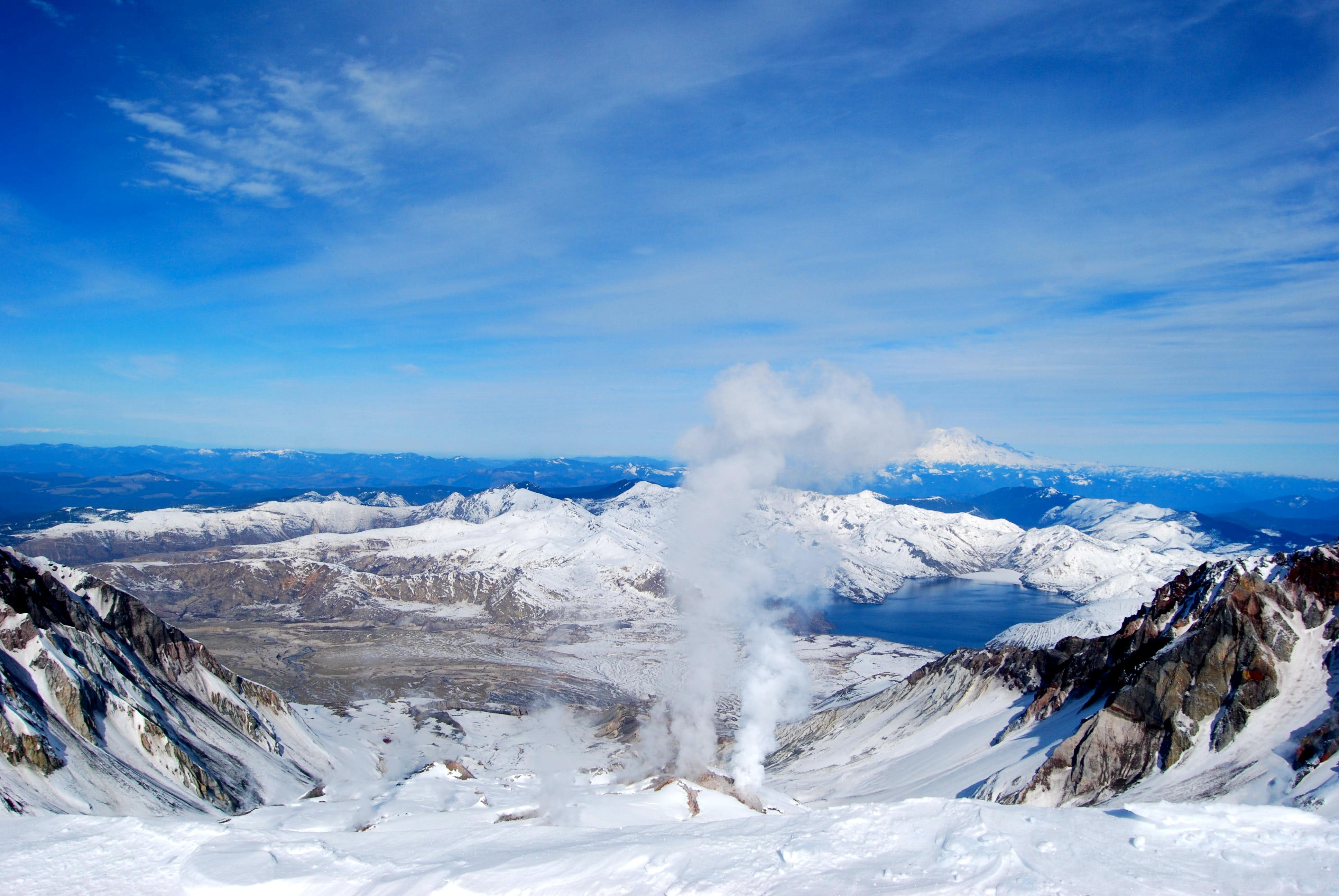 Mt. St. Helens via Worm Flows: February 5th 2012