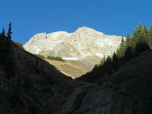 Mount Hood (Opal Range) – West Face from Hood Creek