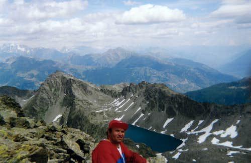 From Mont Colmet to Pietra Rossa Loch into Upper Arpy