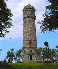 The tower in the state it was in 2005, before being restored
