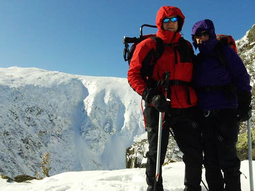 Mount Washington Winter Climb