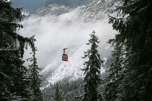 Lake Bâlea cable car
