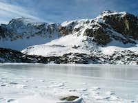 Mt. Neva from Lake Dorothy -...