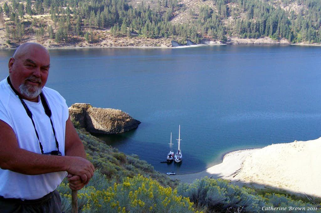 Above Basalt Cave Cove