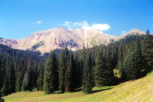 July 6, 2001 Manns Peak and...
