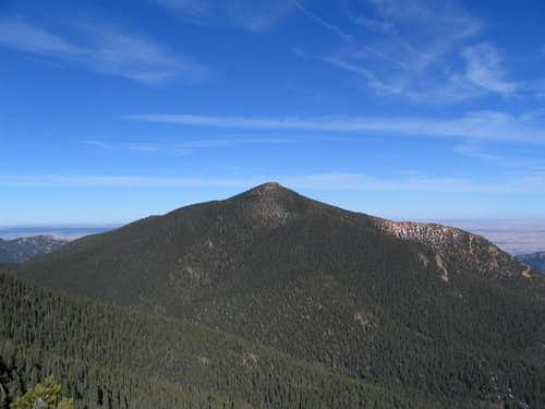 West side of Mount Rosa....