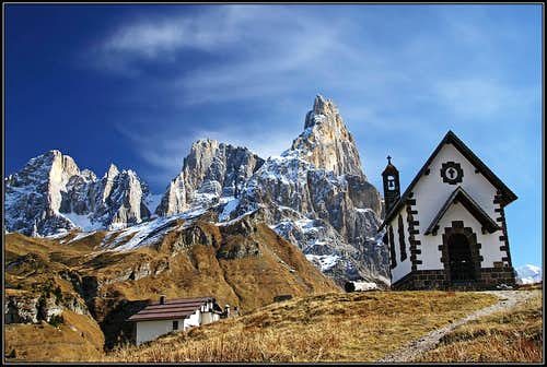 Pale from Passo Rolle