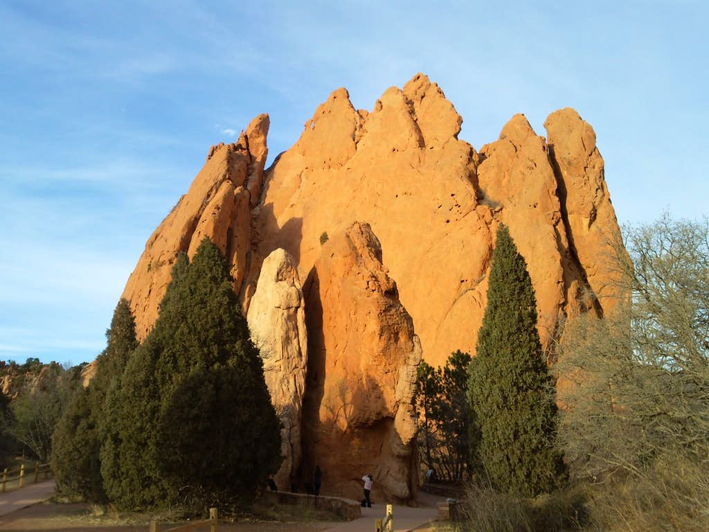 Cathedral Spires and North Gateway Rock.