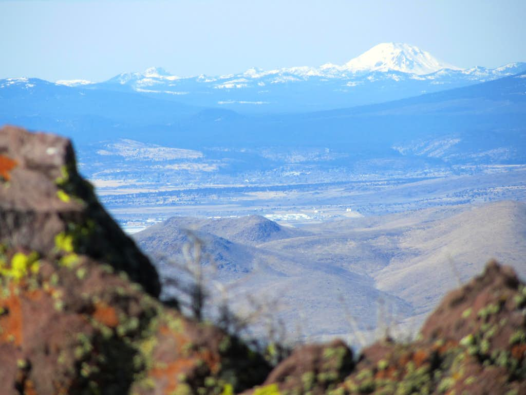 Lassen Peak above Susanville