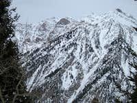 Broads Fork Twin and Sunrise Peaks