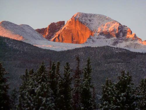 Longs Peak from the NE