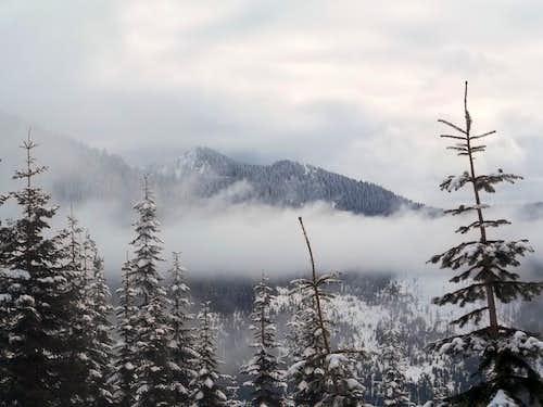 Views along the ridge