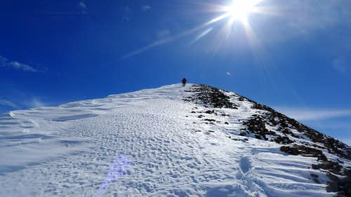 Sunshine & Redcloud Winter Ascent: Up, Up, & Away!