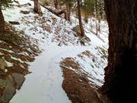 Snow on the Trail